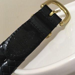 "Coach Accessories - ""5922"" Vintage 90's Coach Heavy Leather Belt! 💥"